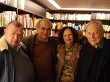 Jac Guinsburg Plinio Martins Irene Machado e Boris Schnaiderman