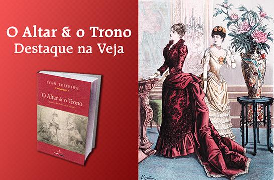 O Altar & o Trono, de Ivan Teixeira, é destaque na Revista Veja