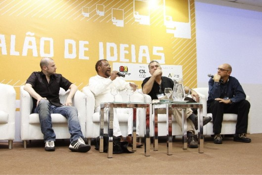 Debate Adoniran Barbosa e Noel Rosa no Salão de Ideias da Bienal 2010