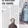 Livro O Altar & o Trono, de Ivan Teixeira, na Revista Veja