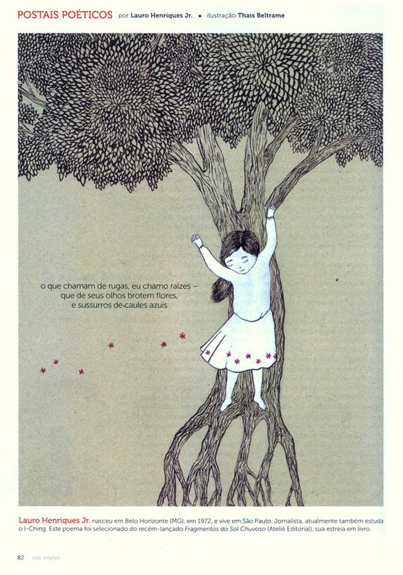 Postal Poético da Revista Vida Simples