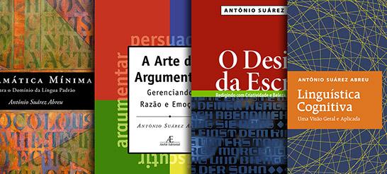 Antônio Suárez Abreu publica mais um livro pela Ateliê Editorial