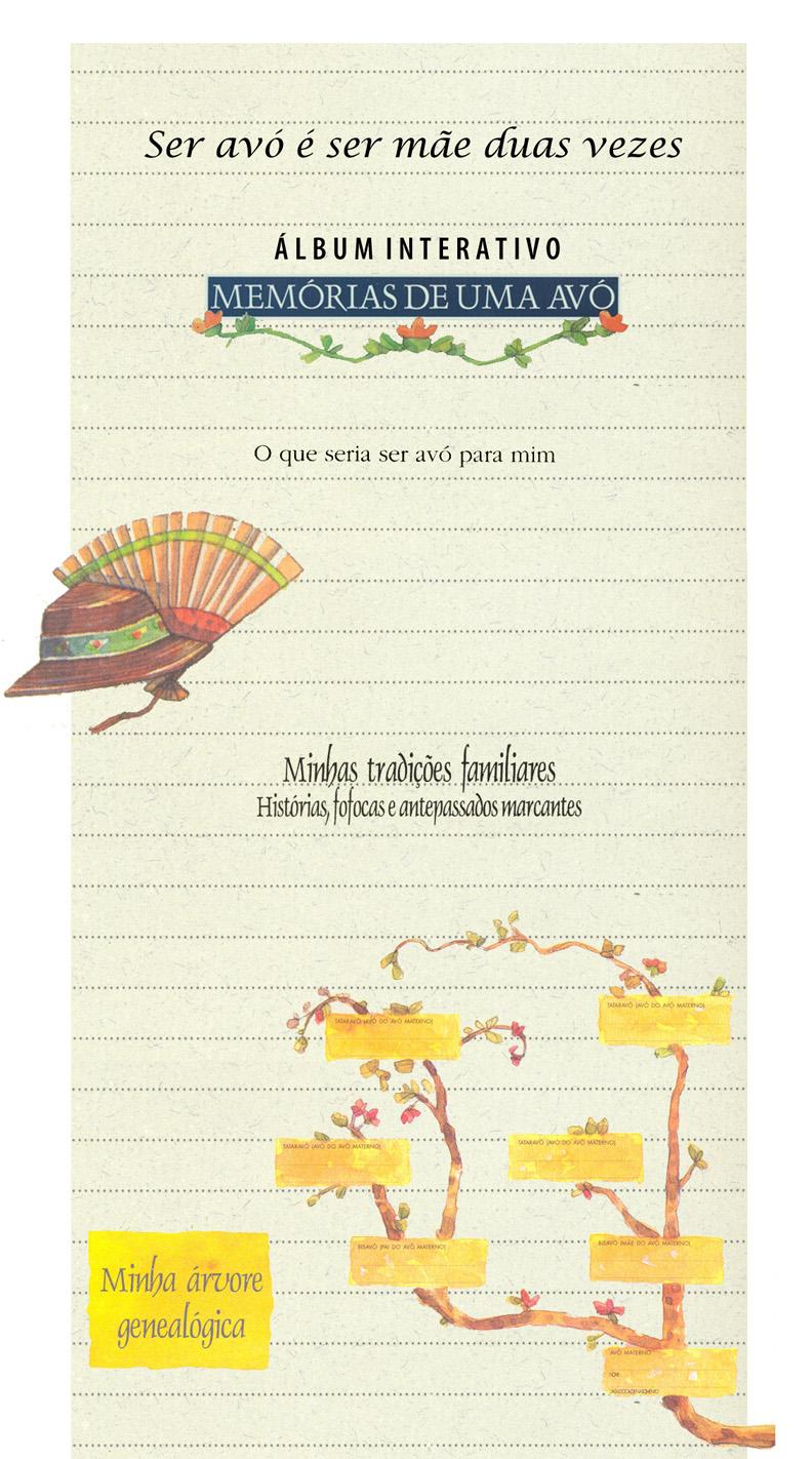 Memórias de uma avó: álbum interativo e ilustrado