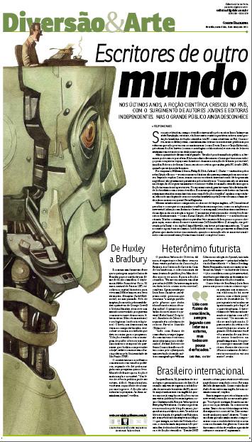 Matéria sobre Ficção Científica - Correio Braziliense
