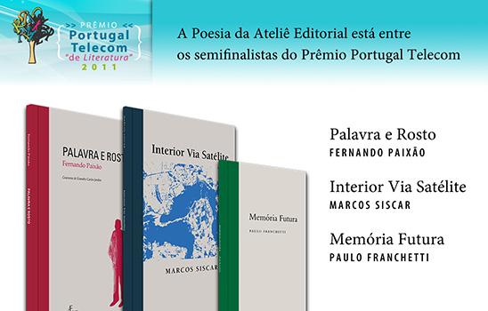 semifinalistas Prêmio Portugal Telecom