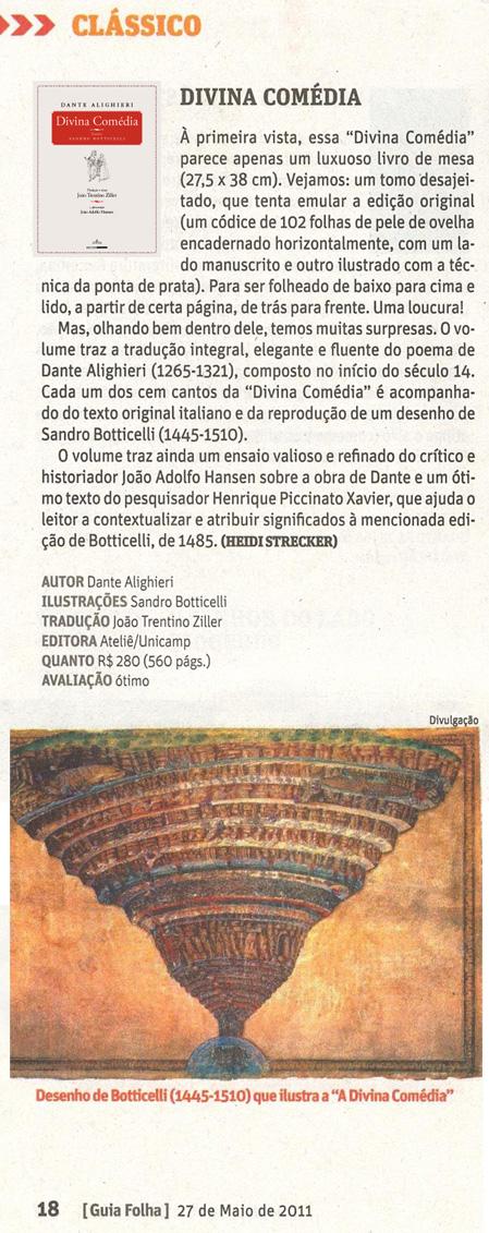Divina Comédia - Guia da Folha