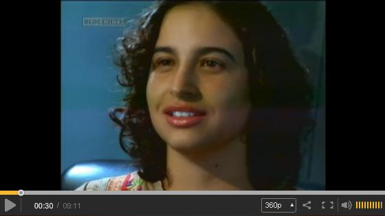 Entrevista de Mariana Botelho ao Programa Imagem da Palavra, da Rede Minas de TV