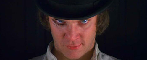 Filme Laranja Mecânica (A Clockwork Orange), de Stanley Kubrick