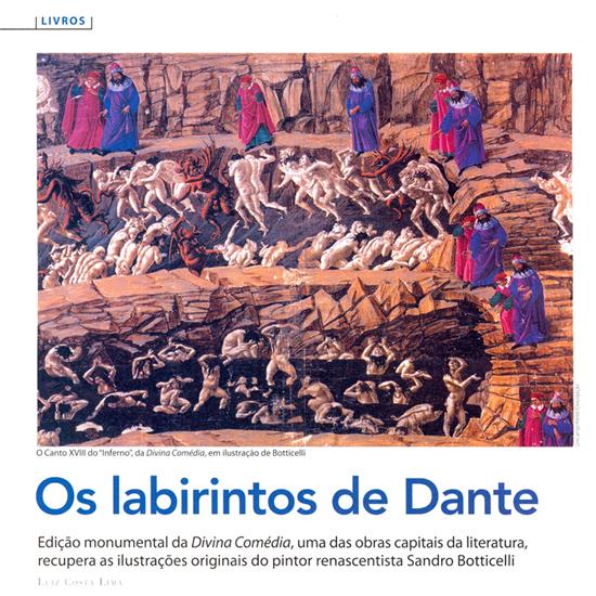 Divina Comédia, de Dante Alighieri, na Cult