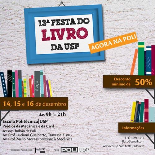 13a Festa do Livro da USP 2011