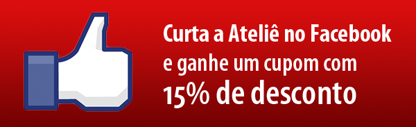 Curta a Ateliê no Facebook