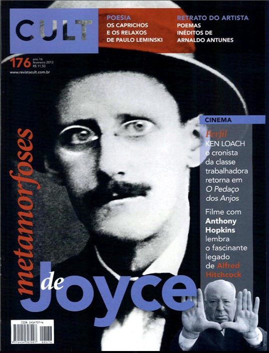 Capa da Revista Cult: James Joyce