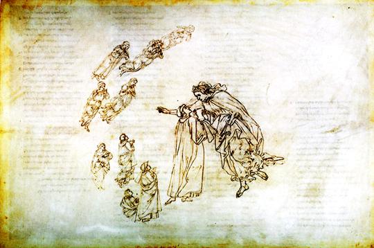 Paraíso – Ilustração de Sandro Botticelli