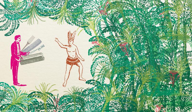 """Ilustração do livro: """"Clichês Brasileiros"""""""