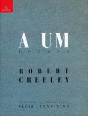 A Um – Poemas, de Robert Creeley