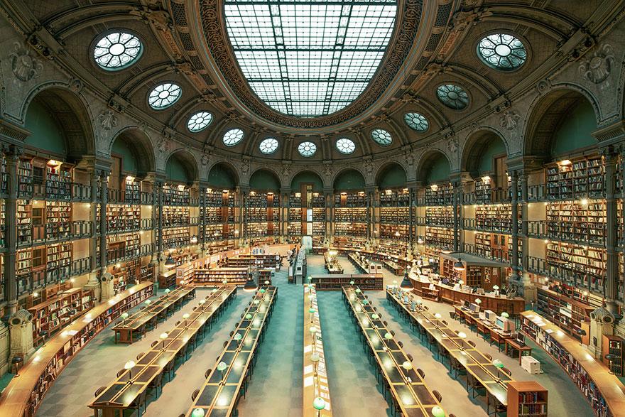 10. Biblioteca Nacional da França