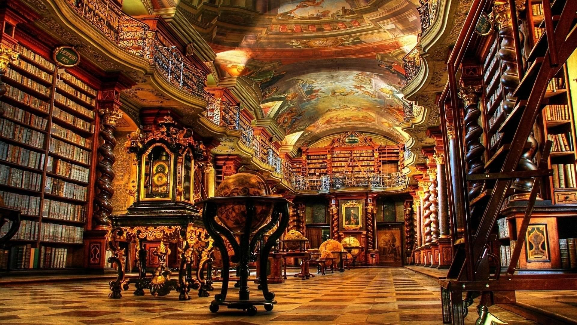 2. Biblioteca Nacional de Praga (Praga, República Checa)
