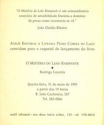 Convite_Leão verso