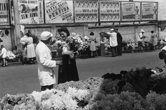 Hildegard Rosenthal. Largo do Arouche em Janeiro de 1942. Acervo Instituto Moreira Salles.