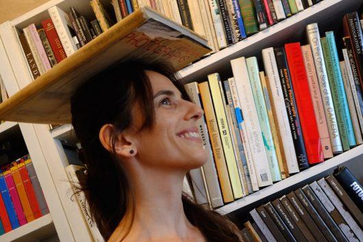 Lucia Mindlin Loeb, fotografada pela filha Flora