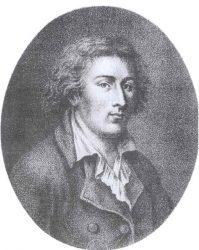 Quatremère de Quincy em imagem de F. Bonneville
