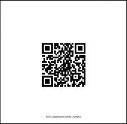 QR Code de cluster contido no livro